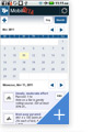 TrainingPeaks for Android - Calendar View